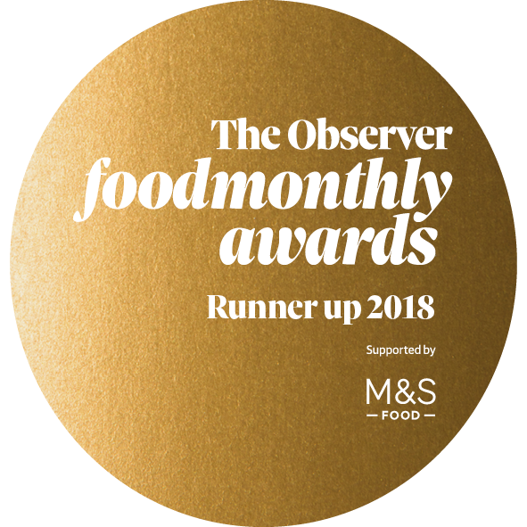 Alchemilla are proud to announce we are a runner up in the Food Monthly Awards by The Observer